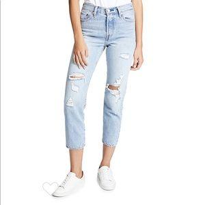 Levi's Wedgie Straight Jeans in Best Kept Secret